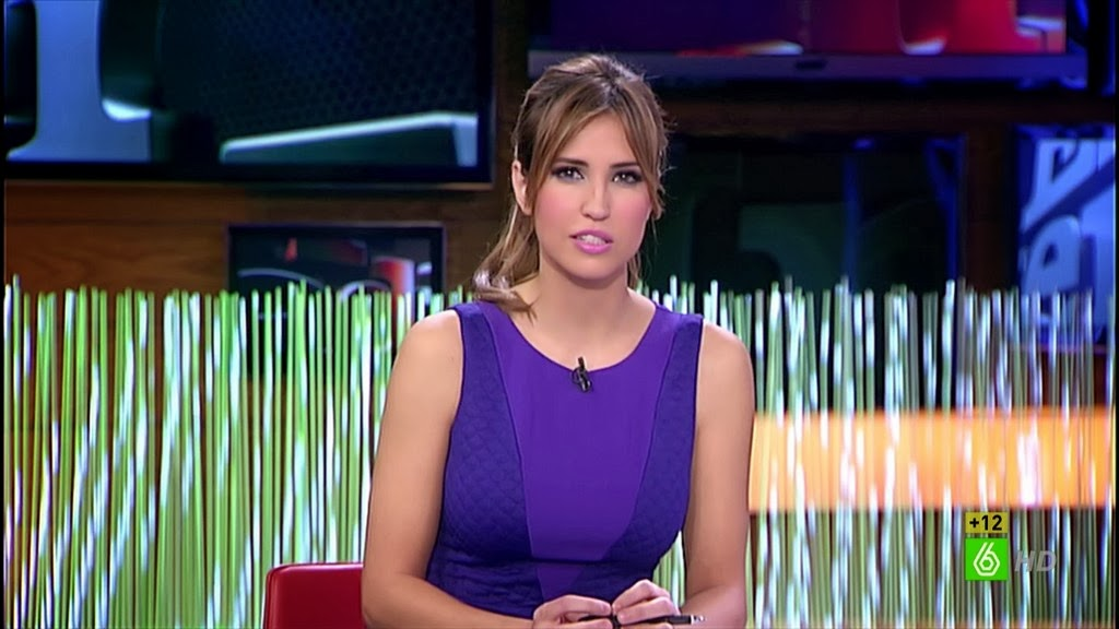 SANDRA SABATES, EL INTERMEDIO (21.01.14)