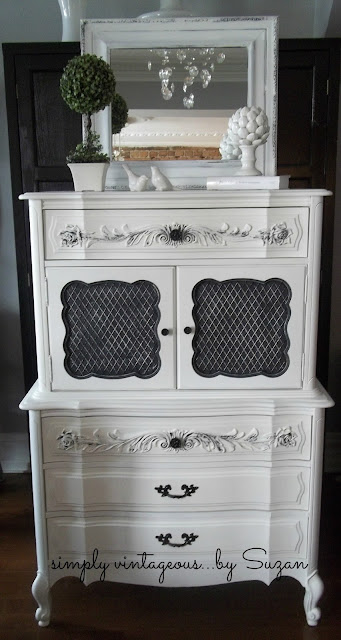 fancy, french, chalk paint, pure white, spray painted handles