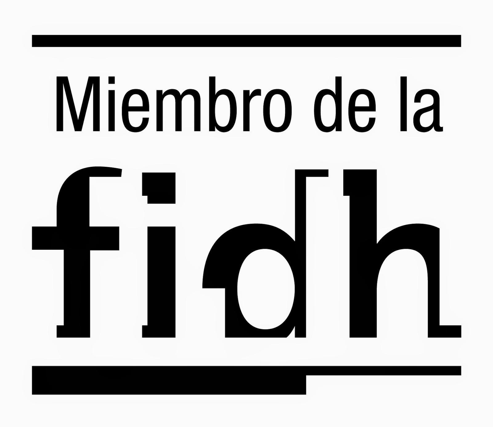 Miembro FIDH