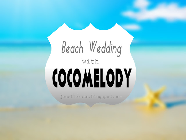 BEACH WEDDING WITH COCOMELODY