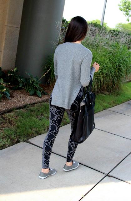 Seva Sweater, Ziggy Snake High Rise Wunder Under Pants, Follow Your Bliss Bag