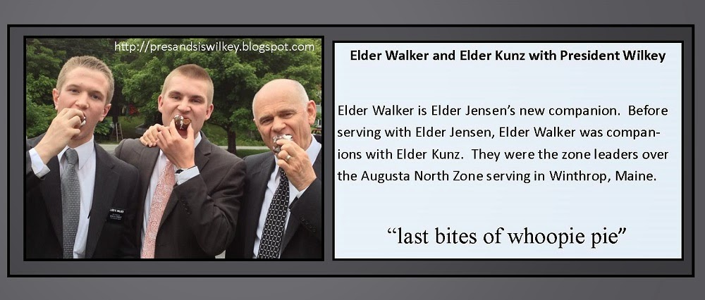 June 18, 2013 - Elder Walker