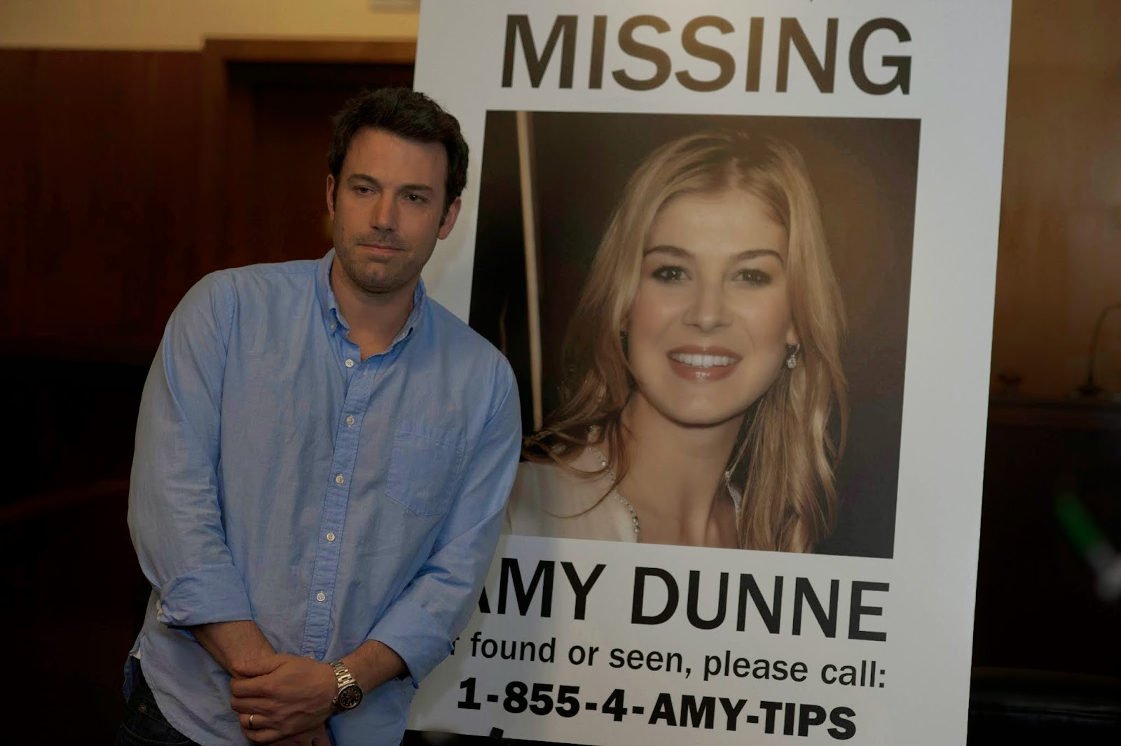 Ben Affleck and Rosamund Pike - Gone Girl