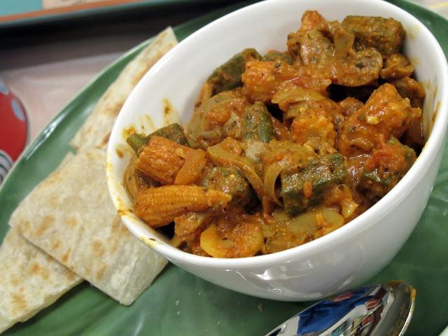 印度咖哩雜菜