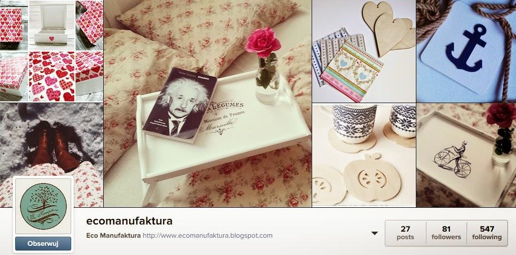 Instagram Eco manufaktura decoupage