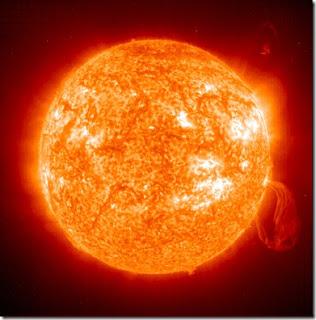 erupcion solar 24 de febrero 2011