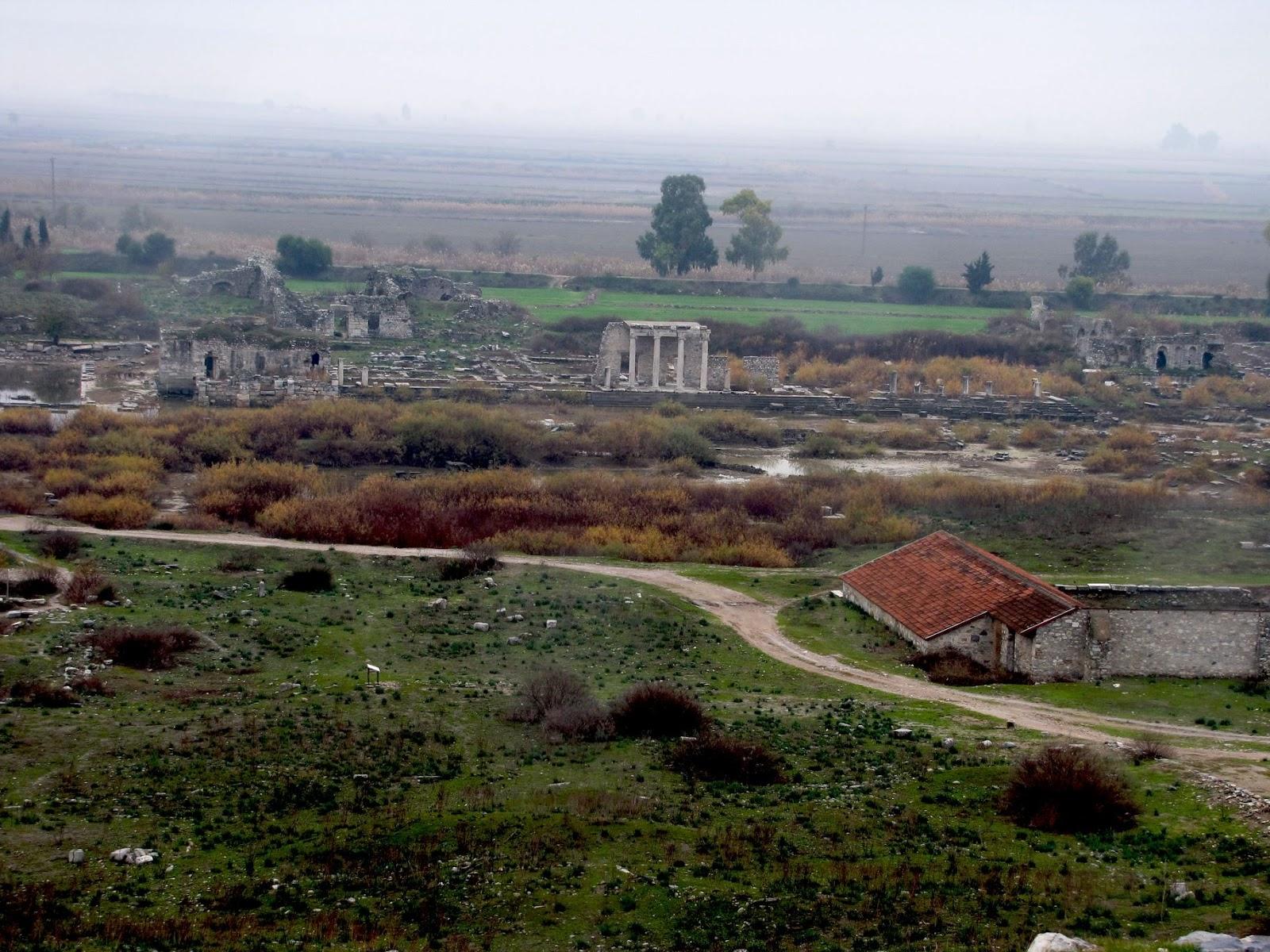 Turquía, Mileto, ágora norte