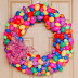 Another Naptime Creation - Easter Egg Wreath