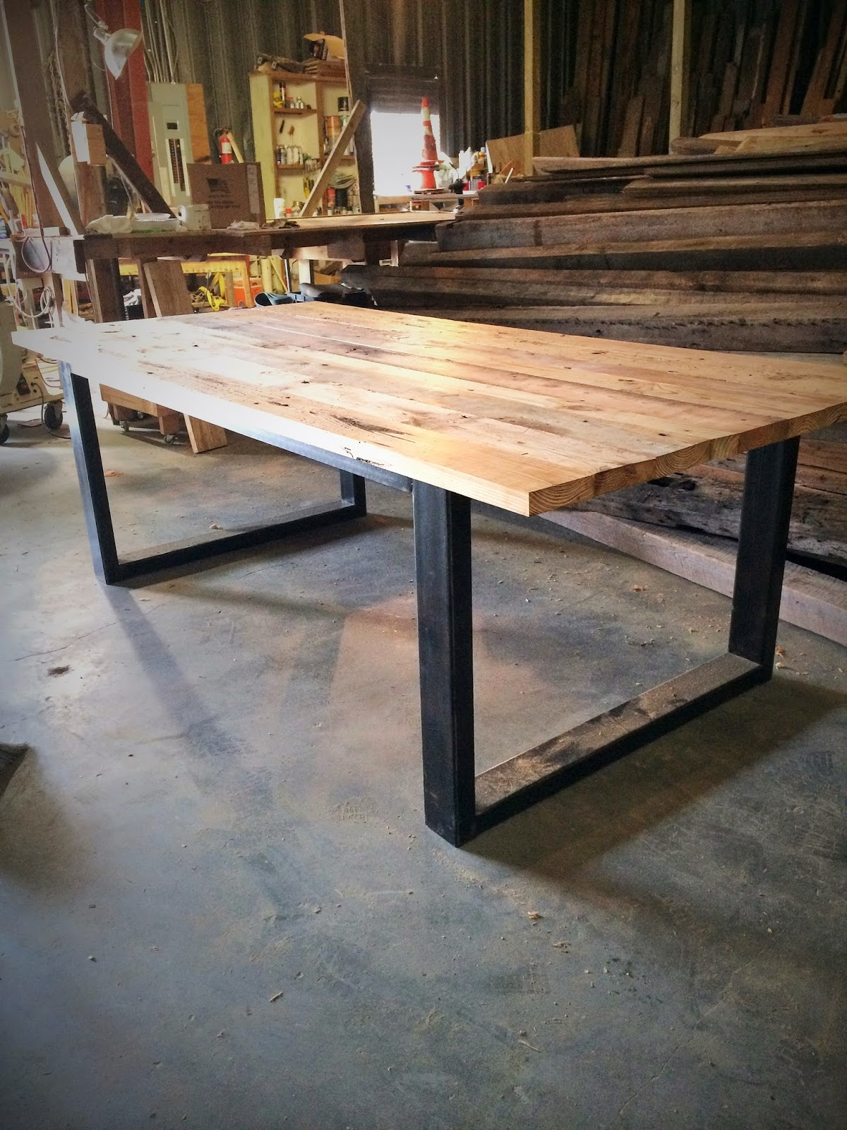 The Most AMAZING Custom Tables    Coffee Tables, Dining, Islands    Made  From Old, Reclaimed Wood. If You Are Local In Charleston, SC, You HAVE To  Check Out ...