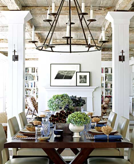 A Fabulous Dining Room Content In A Cottage
