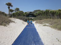 Palmetto Dunes Beach matting