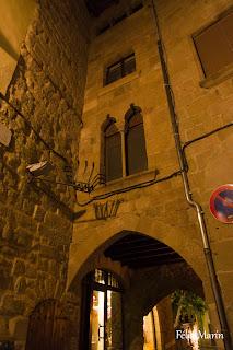 Acceso a la Plaza de Sant Joan