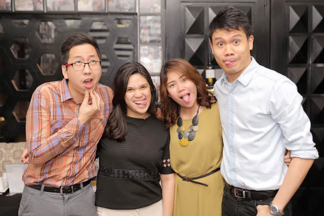 Renz Cheng, Mirze Rey, Meg Olea and JD Castillo