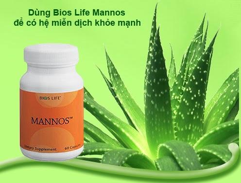 Bios Life Mannos Unicity Bổ sung Aloe Vera cho Hệ miễn dịch