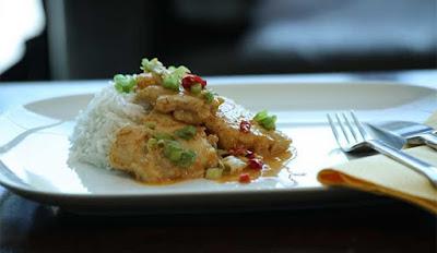 كاري الأرز بالسمك
