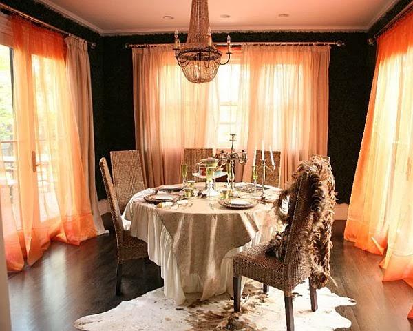 Divano Arancione E Marrone : Arredare con larancione. speciale halloween architettura e design