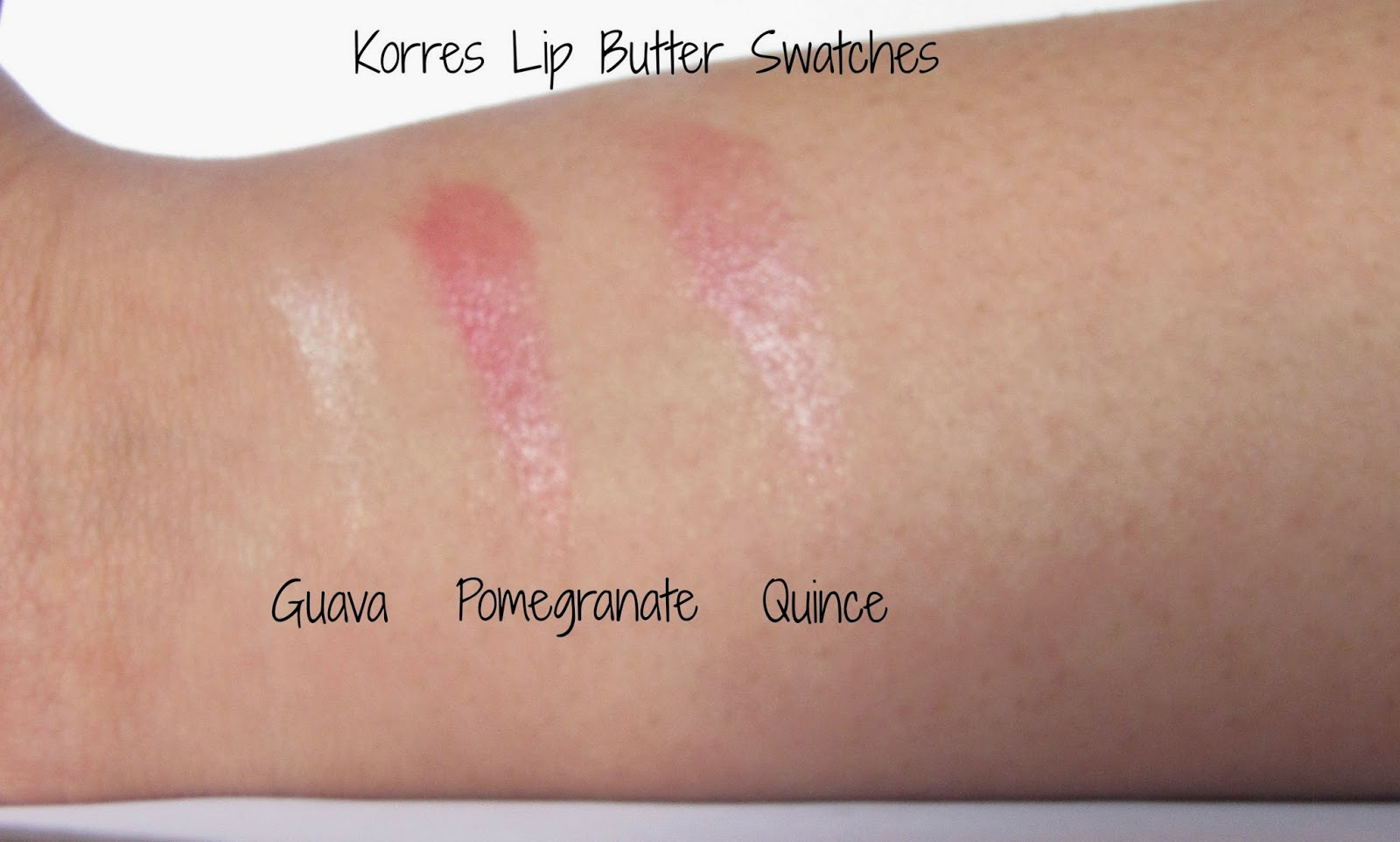 Review: Korres Lip Butter in Quince | Ramblings of a ...