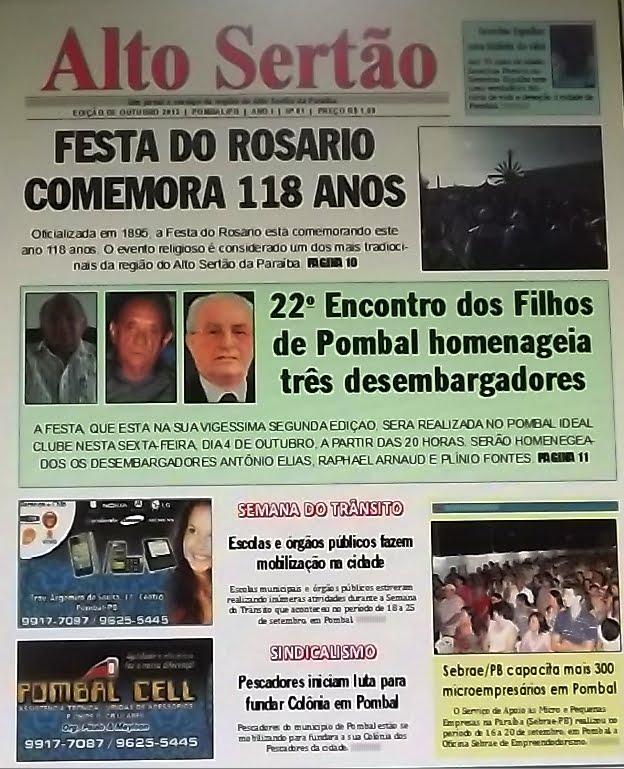 "JORNAL""ALTO SERTÃO"""