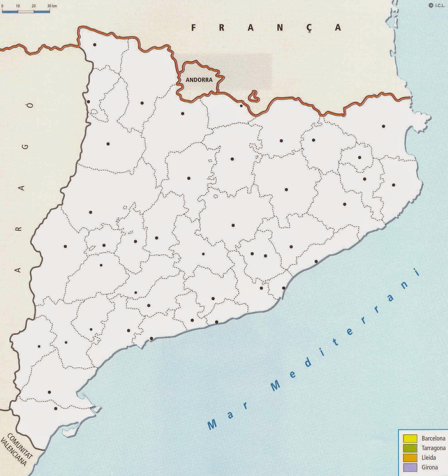 Ilercavona On es troba la teva comarca