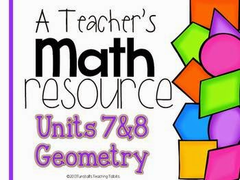 http://www.teacherspayteachers.com/Product/A-Teachers-Math-Resource-Units-7-and-8-Geometry-994960