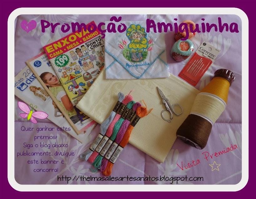 Promoção Amiguinha no blog da Thelma salles
