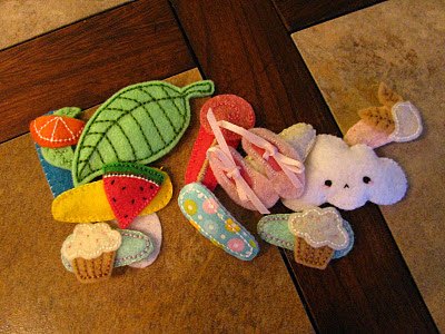 Felt Barrette Covers