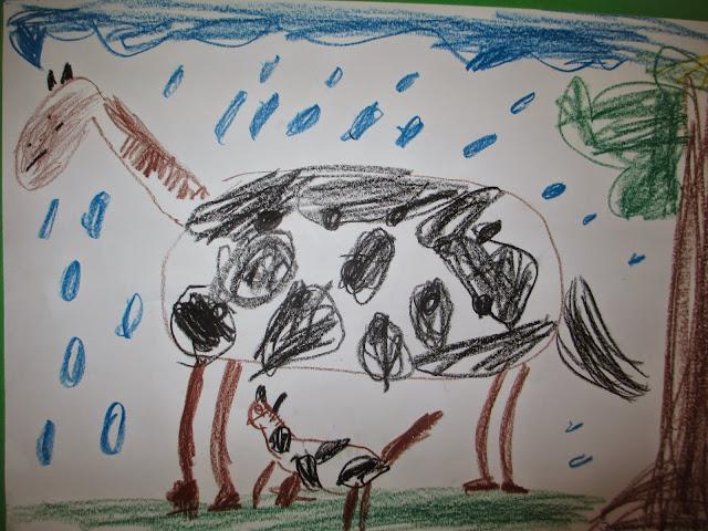 zeichnen im Kindergarten