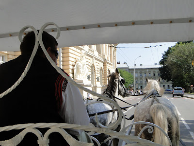 Horse and carriage ride, Lviv, Ukraine