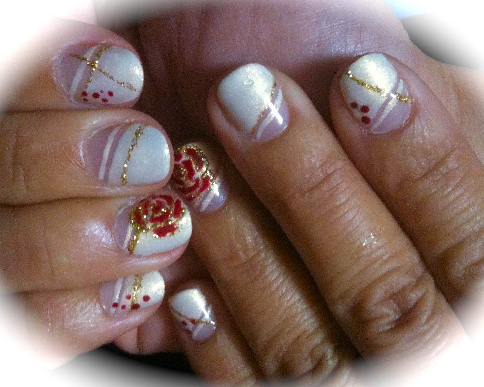 Garret Nail & Foot Beauty Salon/ Painting work: Japanese Gel Nails ...