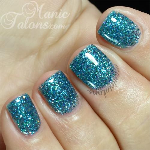 Gloss & Glitter Aquamarine Swatch