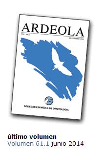 Ardeola volumen 61.1