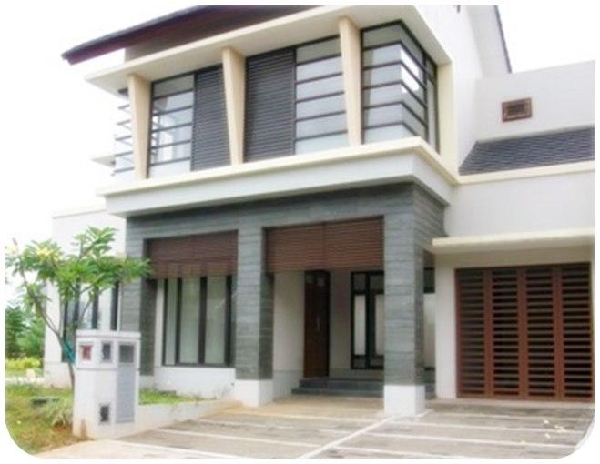 desain dan model rumah tingkat minimalis