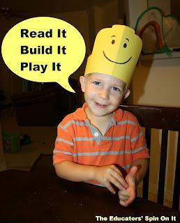 Preschool learning activities inspired by DUPLO