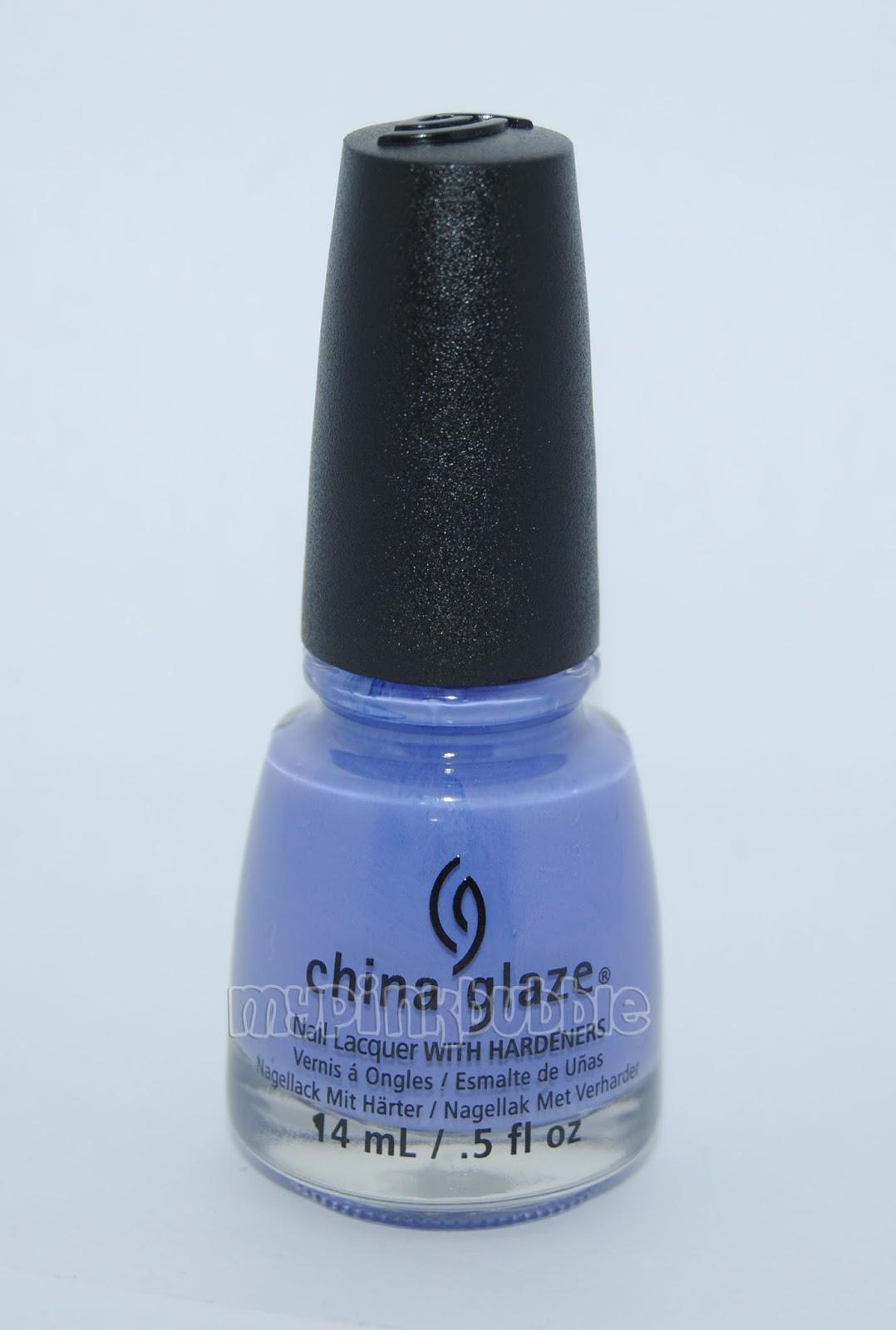 China Glaze What a pansy