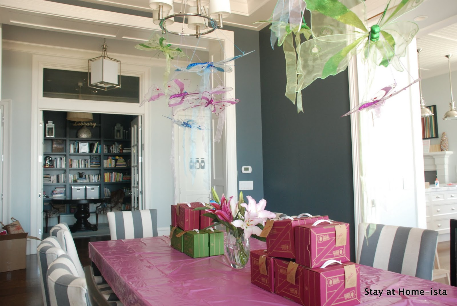 stay at home ista little girl s butterfly birthday party a 5th