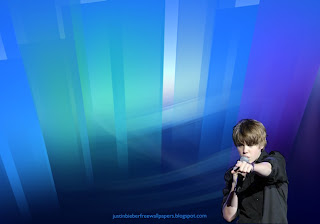 Wallpaper of Justin Bieber in Concert at Crystal Landscape wallpaper for the fans