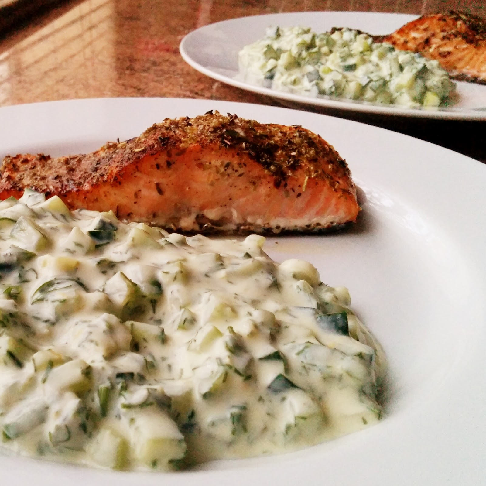 HELENA BOURMAULT in the kitchen: Roasted Salmon with Dill ...