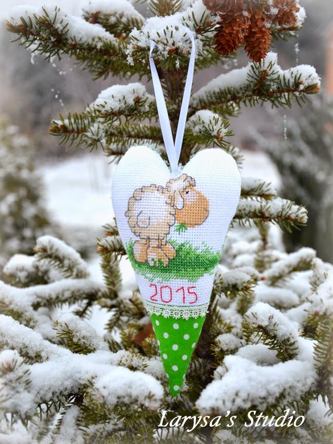 рождественское сердечко