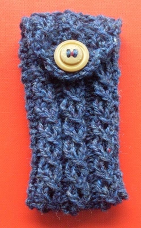 Baljaffray Handknits Free Knitting Pattern Ipod Or Mobile Cell