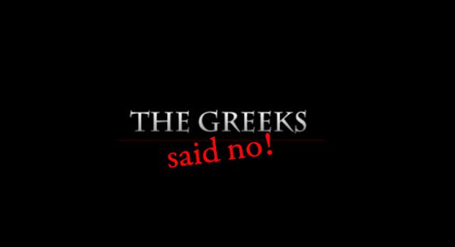 Οι Έλληνες είπαν όχι!