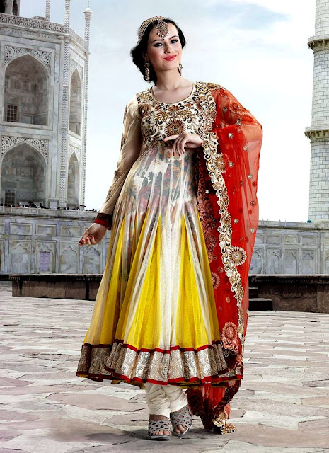 New Anarkali Suits 2013-14