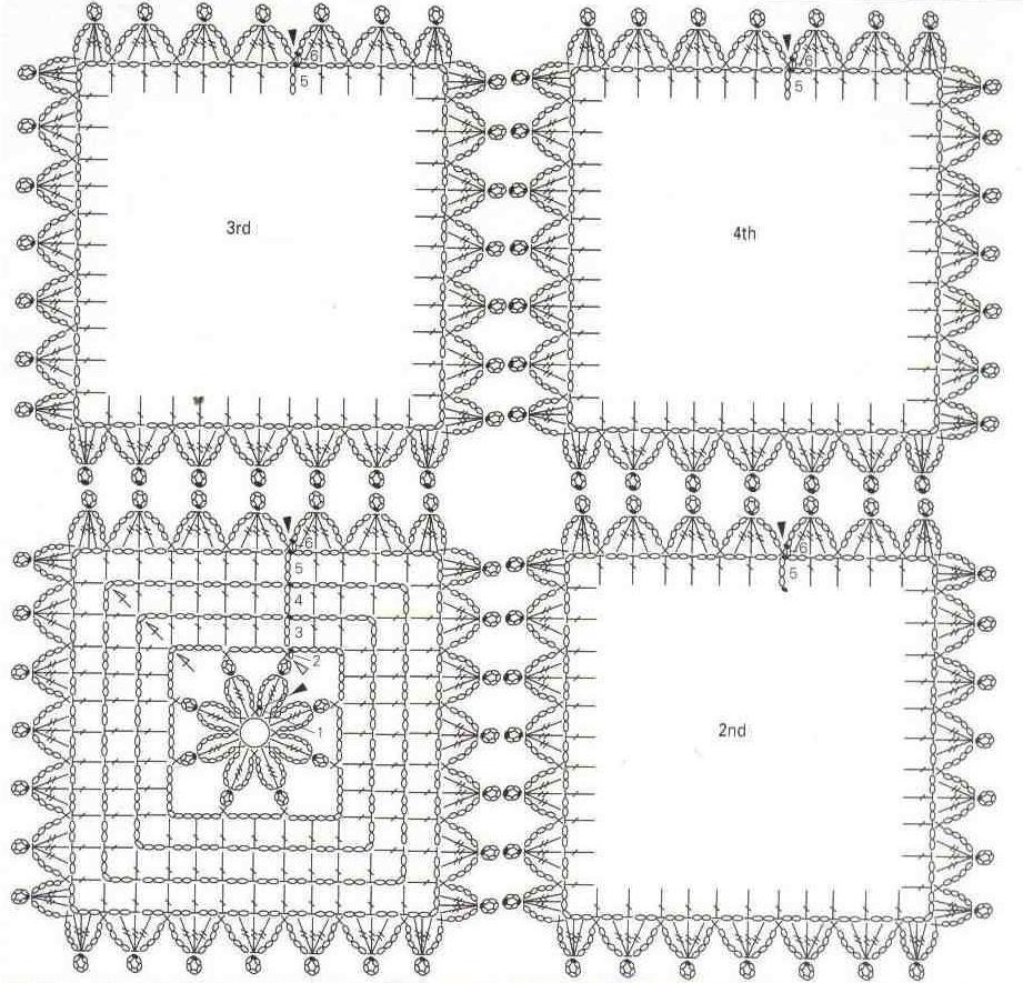 Hermosa Los Patrones De Crochet Gratuitas Para Imprimir Colección ...