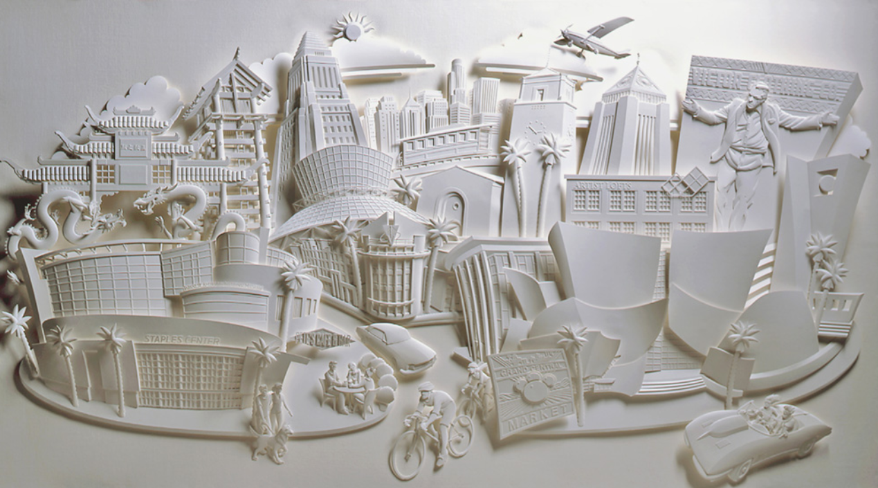 Simply creative 3d paper sculptures by jeff nishinaka for 3d sculpture artists