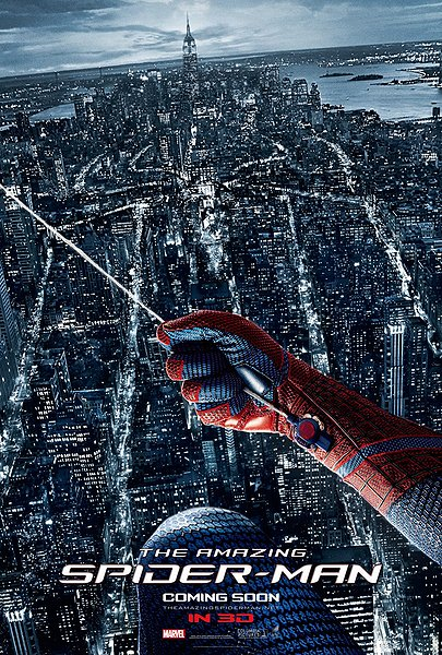 amazing spider man, spiderman, movie, movie poster