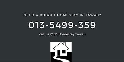 Budget homestay in Tawau