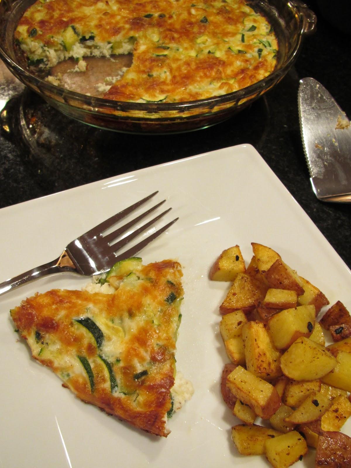 Pammi Cakes Recipes: Spicy Zucchini Frittata Recipe