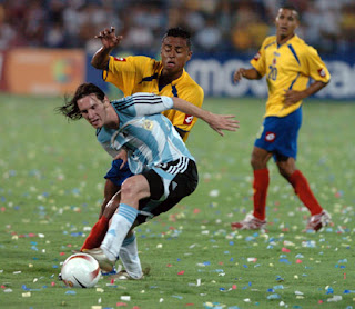 Argentina no quiere dejar escapar ningún detalle del duelo frente a Colombia