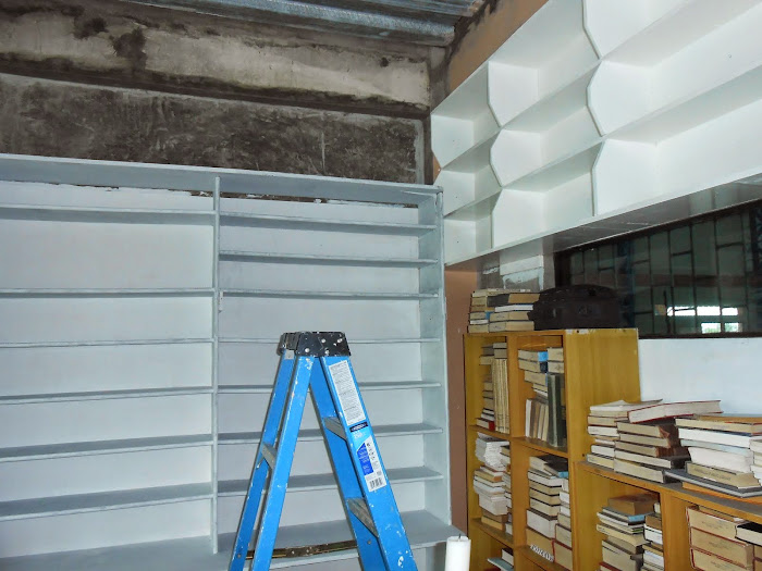 Renovations in the LCC Library