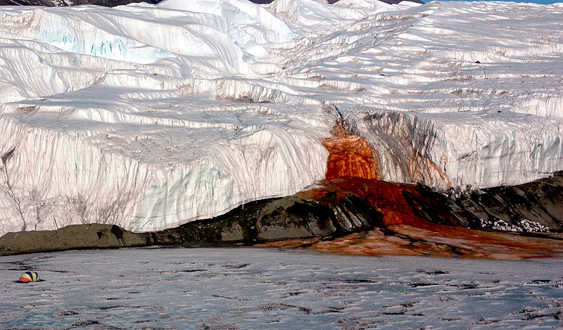 Air Terjun Darah di Antartika