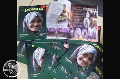 Majalahnya ada profil Puri Emely